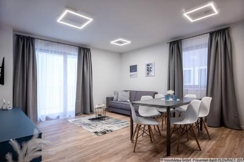 Vollausgestattetes 4-Zimmer Apartment mit Balkon