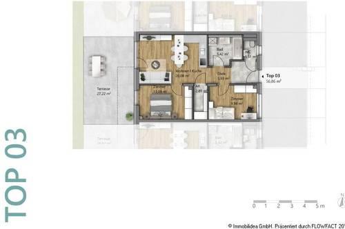 Moderne 3-Zimmer Wohnung