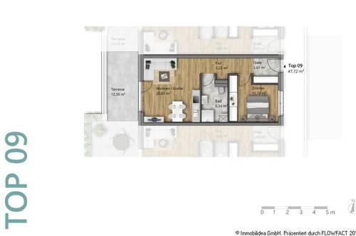 Moderne 2-Zimmer Wohnung