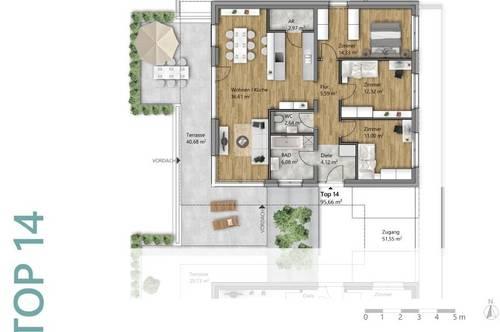 Moderne 4-Zimmer Wohnung