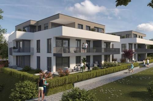 Baustart Juni: Moderne 2 Zi-Wohnungen, von Garten- bis zur Penthouse-Wohnung, ab 55m²