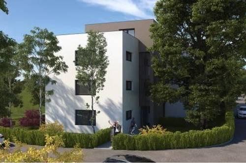 BAUSTART! Moderne 2-Zi-Wohnung im 1. OG mit Loggia