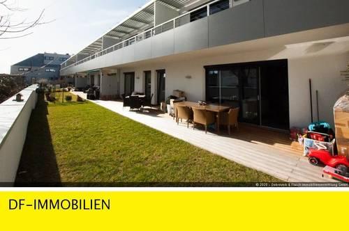 REPRÄSENTATIVE, ELEGANTE EIGENTUMSWOHNUNG mit 85 m² TERRASSE IN GUMPOLDSKIRCHEN AN DEN WEINBERGEN