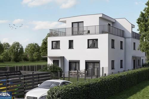 NIEDRIGENERGIEHAUS in Sarasdorf mit Eigengarten und Terrassen