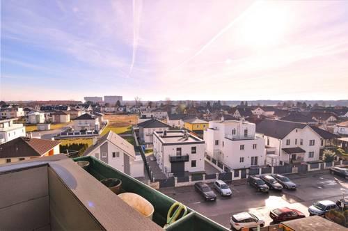 Wunderschöne, sehr helle 83m² DG- Wohnung - ohne Schrägen, mit Loggia und Fernblick!