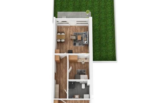 """RESERVIERT! TOP 3 Wohnprojekt """"Endach 18"""": 3 Zimmer Wohnung"""