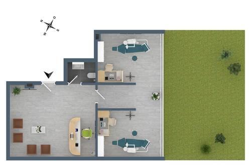 """TOP G2: Praxis in unmittelbarer Krankenhausnähe im Neubauprojekt """"Endach 18"""""""