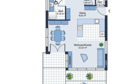 ERSTBEZUG! Exklusive Penthousewohnung in Kufstein ab April 2021 zu vermieten!