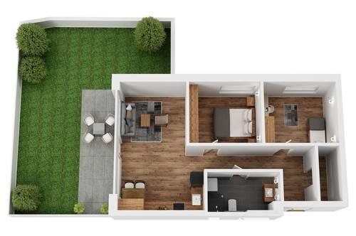 """RESERVIERT! TOP 6 Wohnprojekt """"Endach 18"""": 3 Zimmer Wohnung"""