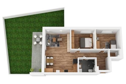 """RESERVIERT! TOP 2 Wohnprojekt """"Endach 18"""": 3 Zimmer Wohnung"""