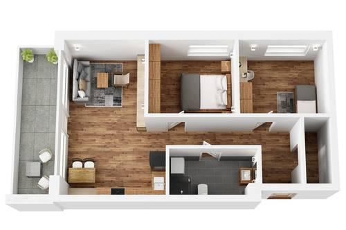 """RESERVIERT! TOP 14 Wohnprojekt """"Endach 18"""": 3 Zimmer Wohnung"""