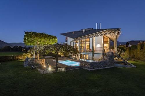 Moderne Villa in sonniger Lage mit herrlichem Bergblick