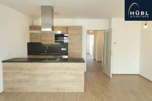 2 Zimmerwohnung mit Balkon, Einbauküche und Fußbodenheizung | zwischen Floridsdorfer Spitz und Wasserpark