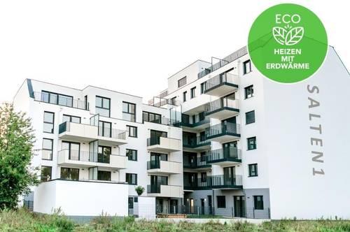 Klimatisierte 3-Zimmer Wohnung | Erstbezug | Markenküche | Fußbodenheizung | elektr. Außenbeschattung
