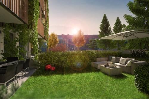 2 Zimmer Wohnung mit Garten