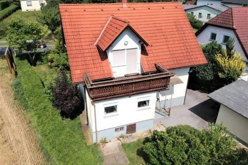 Großzügiges Einfamilienhaus (126m²) mit idyllischem Garten in Dietersdorf!