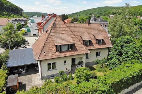 Einfamilienhaus an der Wiener Stadtgrenze