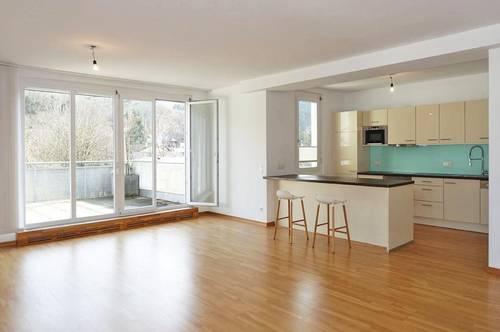Geräumige Wohnung mit 2 Dachterrassen in Grünruhelage