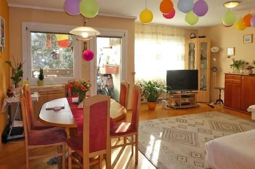 Freundliche 4-Zimmer-Wohnung mit Südloggia am Fuße des Wolfersbergs