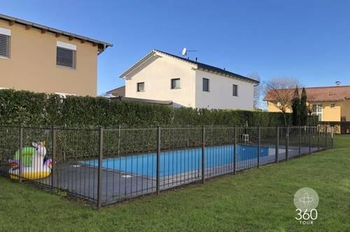Gartenwohnung mit Pool