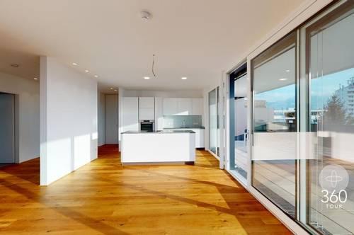Wunderschöne Penthouse-Wohnung in Lustenau!