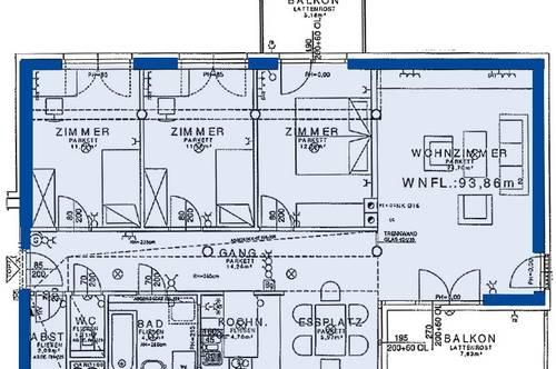 Wieselburg. Geförderte 4 Zimmer Wohnung | 2 Balkone | Miete mit Kaufrecht.
