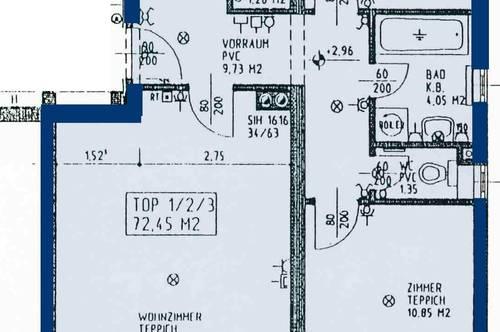 Paudorf. Geförderte 3 Zimmer Wohnung | Balkon | Miete mit Kaufrecht.