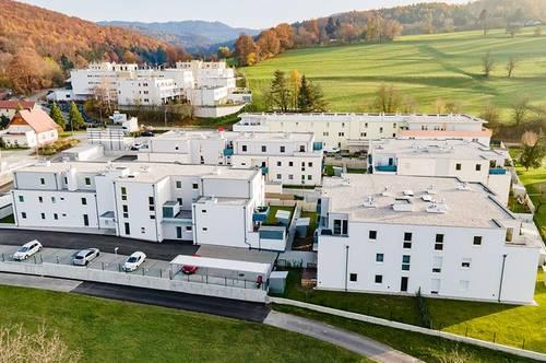 Altlengbach. Bezugsfertige, geförderte 3 Zimmer Whg. | Dachterrasse | Miete mit Kaufrecht.