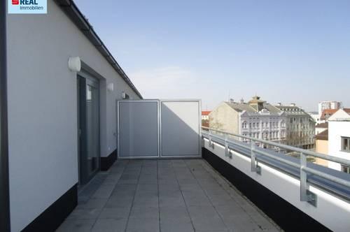 4 Zimmer-Wohnung mit Dachterrasse in zentraler Lage