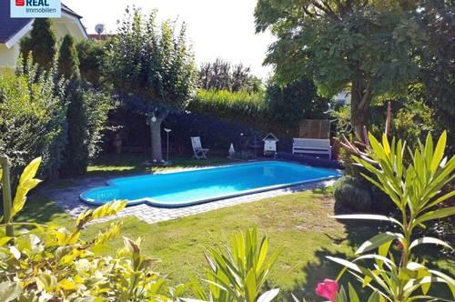 2521 Trumau, Wohnfühloase in ruhiger Lage mit Swimmingpool im schmucken Garten