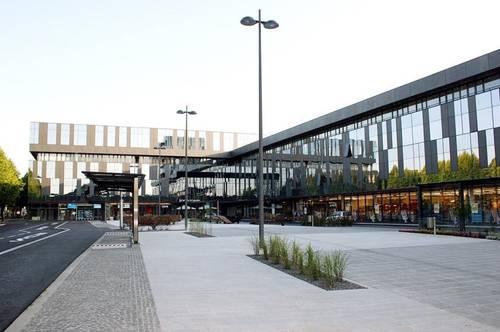 Exklusives Daschgeschoß-Büro