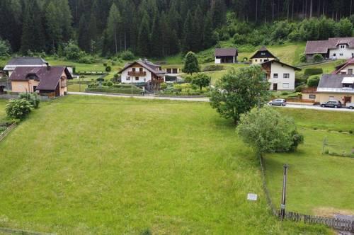 Baugrundstück in Bleiberg-Nötsch