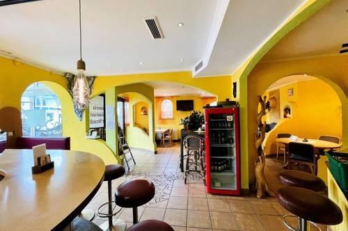 Gemütliches Café mit Gastgarten & Wintergarten!