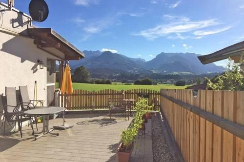 Miete: Wohnung in herrlicher Aussichtslage von Kössen