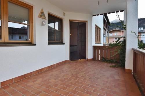 Sofort verfügbar - Nette Wohnung mit schöner Terrasse in Fieberbrunn