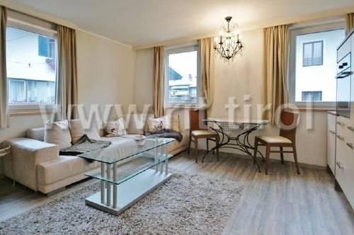 Miete: Gemütliche Wohnung mit Freizeitwohnsitzwidmung im Dorfzentrum von Fieberbrunn