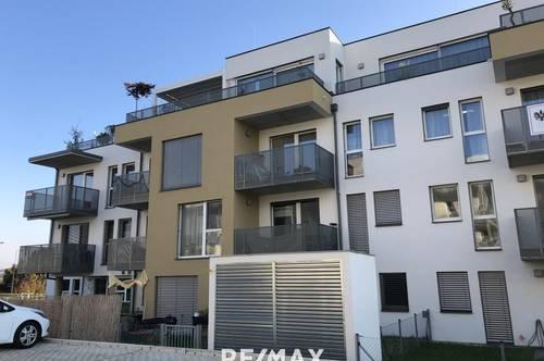 Sehr helle freundliche Wohnung mit Balkon  -  Erstbezug mit Lift
