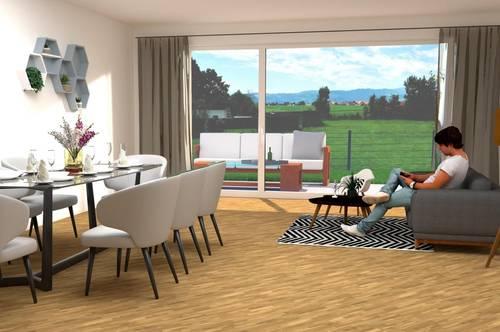 4-Zimmer-Wohnerlebnis mit Garten oder/und Terrasse - Wohnanlage Neudauerfeld
