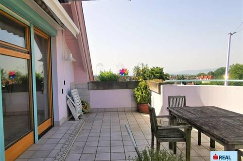 Penthousewohnung mit Panorama-Terrasse!