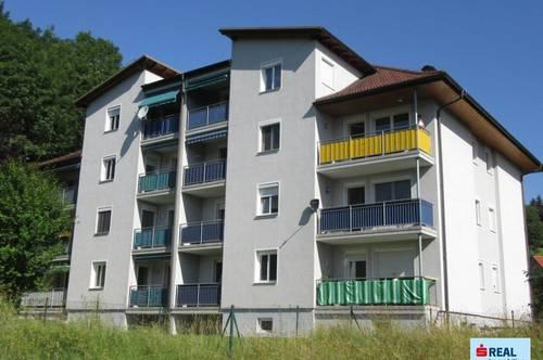 Ideale Anlegerwohnung in Wolfsberg - ca. 52 m² Wohnfläche + Loggia