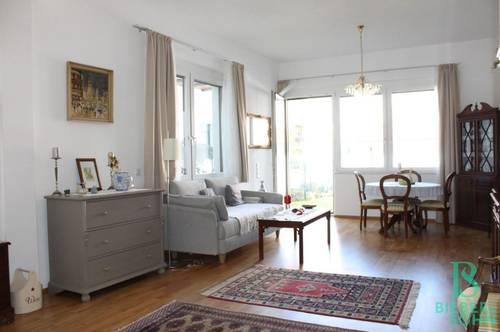 Sensationelle und großzügige 2-Zimmer Gartenwohnung mit KFZ-Abstellplatz