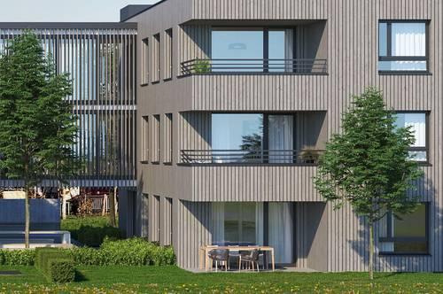 3-Zimmer Wohnung mit großen Garten