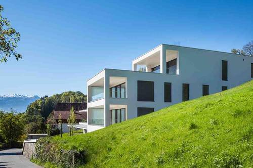 Luxus-Apartment mit großer Terrasse und Panoramablick am Ardetzenberg in Feldkirch