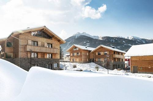 Zweigeschossiges Penthouse-Apartment mit 150 m² in den Osttiroler Alpen