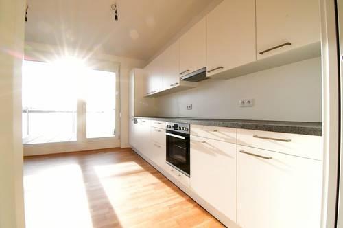 Lassen Sie sich bei einer Besichtigung begeistern - Optimal aufgeteilte Wohnungen in Spillern inkl. EWE Küche