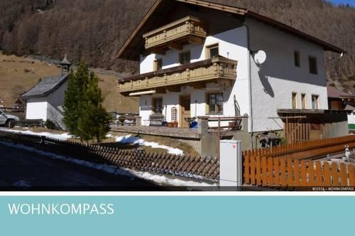 Sölden: Wohnhaus mit wunderschöner Aussicht!