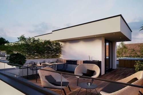 PROVISIONSFREI - ERSTBEZUG! Modernes 4 Zimmer-Reihenhaus mit Garten und Dachterrasse - voll unterkellert.................