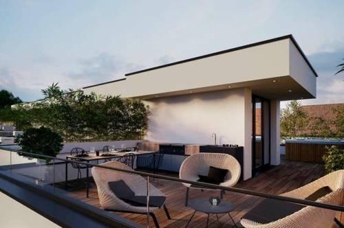 PROVISIONSFREI - REIHENHAUS-FLAIR! Moderne MAISONETTE-WOHNUNG mit Eigengarten, Dachterrasse und Keller..................