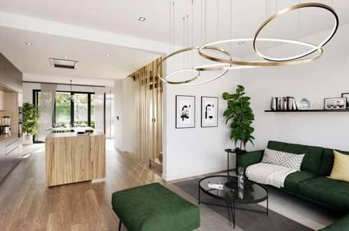 PROVISIONSFREI - ERSTBEZUG! Modernes 4 Zimmer-Reihenhaus mit Garten und Dachterrasse - voll unterkellert..................