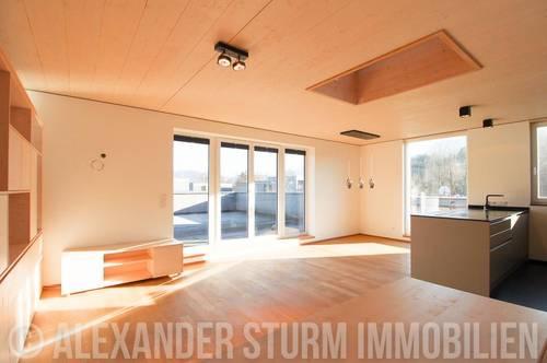 WOHNGENUSS | Lichtdurchflutete 2 Zi.-Maisonette mit großer Panoramaterrasse